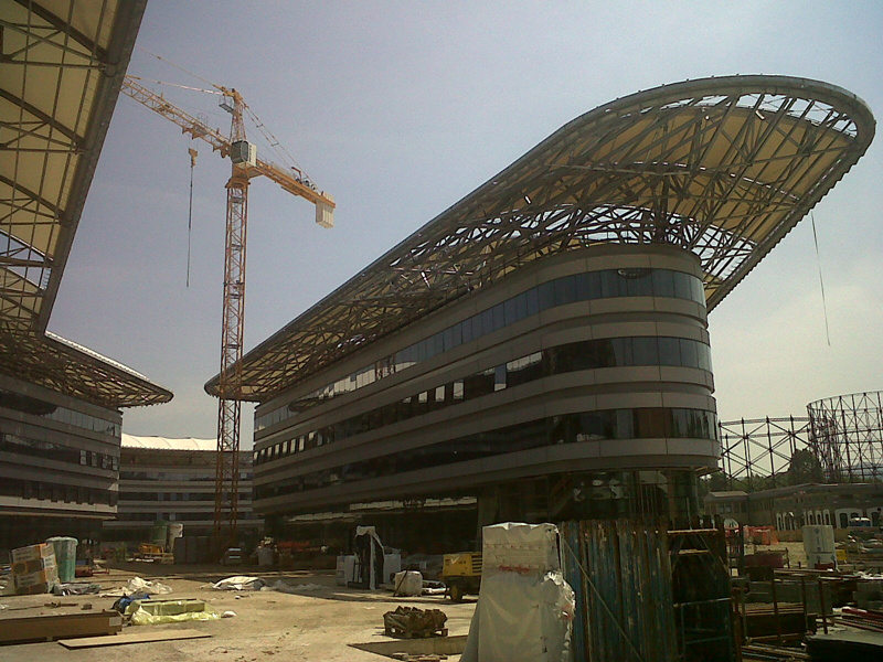 stadium construction company