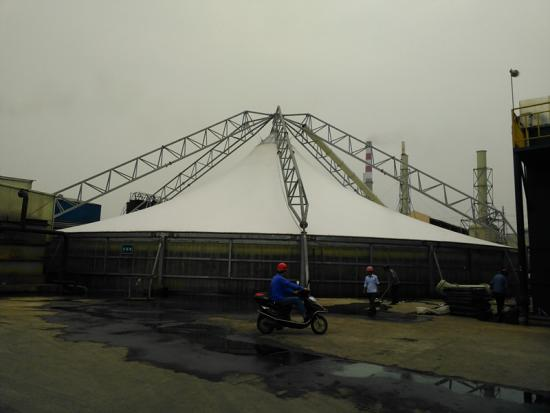 Commercial Tensile Space Structure
