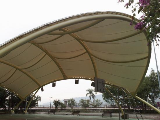 Sport Court Stadium Tensile Roof