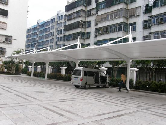 competitive PVC car parking structure