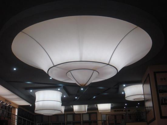 Purifying Air Tio2 coating PVC soft ceilings